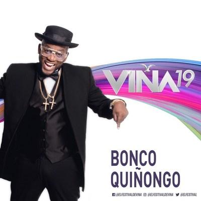 BONCO QUIÑONGO REPRESENTARÁ A CUBA EN SU GRAN DEBUT DURANTE EL FESTIVAL VIÑA DEL MAR 2019 (PRNewsfoto/Spanish Broadcasting System, Inc)
