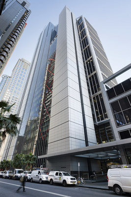 126 Phillip Street in Sydney's CBD is an iconic Australian office building acquired by Oxford through its take-private acquisition of Investa Office Fund REIT (CNW Group/Oxford Properties Group Inc.)