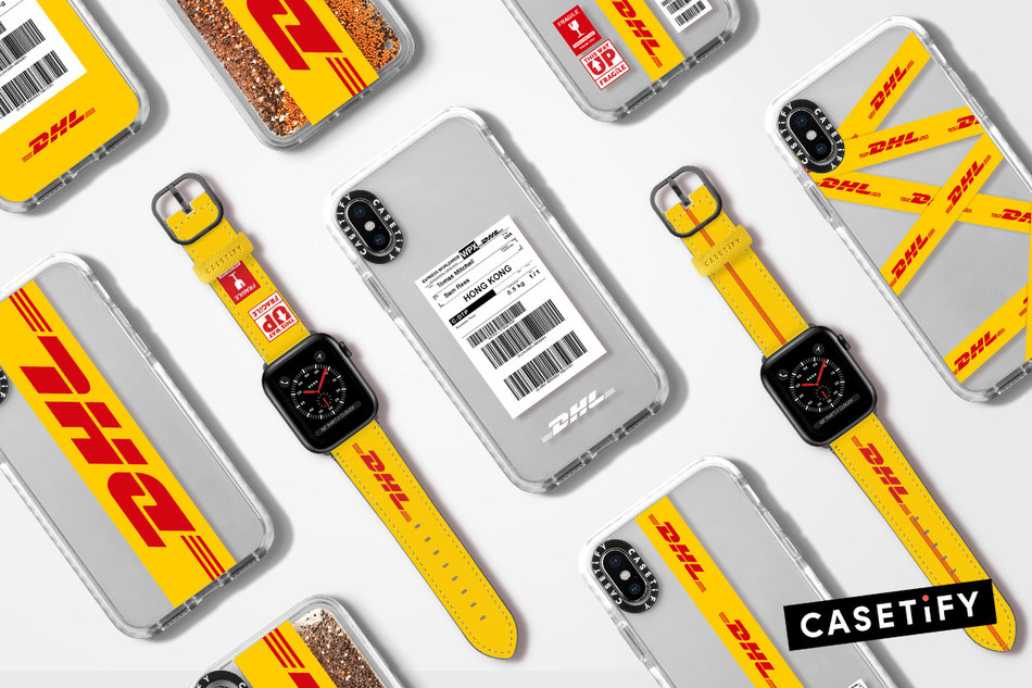 DHL x CASETiFY limited edition tech capsule collection
