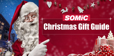 SOMiC Offers Holiday Discounts on 5 Headphones, Making Them the Perfect Christmas Gifts