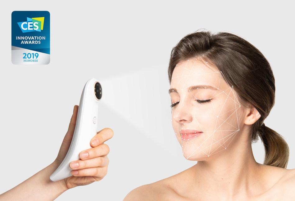 AI skincare assistant LUMINI