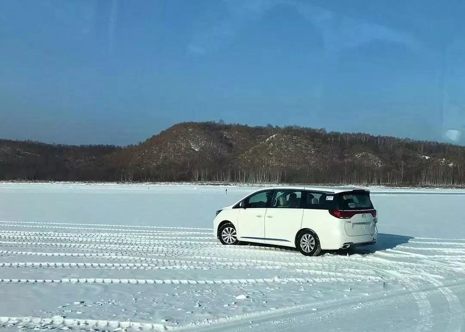 GAC Motor's Vehicle Was Tested in Cold Region Test Site