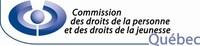 Logo : La Commission des droits de la personne et des droits de la jeunesse (Groupe CNW/Commission des droits de la personne et des droits de la jeunesse)