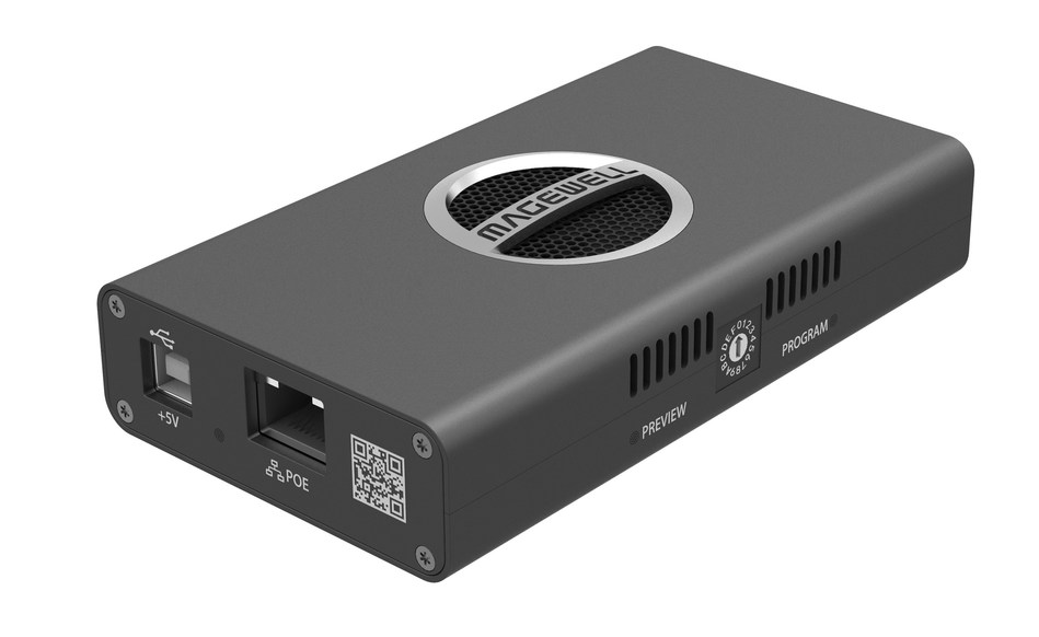 Magewell is now shipping its new Pro Convert HDMI 4K Plus encoder hardware for NDI-based, IP video production workflows.