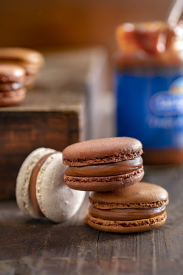 Dulce de leche macarons, the fusión between a French classic and a typical Argentinian product