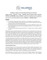 PDF: Wallbridge Completes Successful Initial Drill Program at Beschefer (CNW Group/Wallbridge Mining Company Limited)