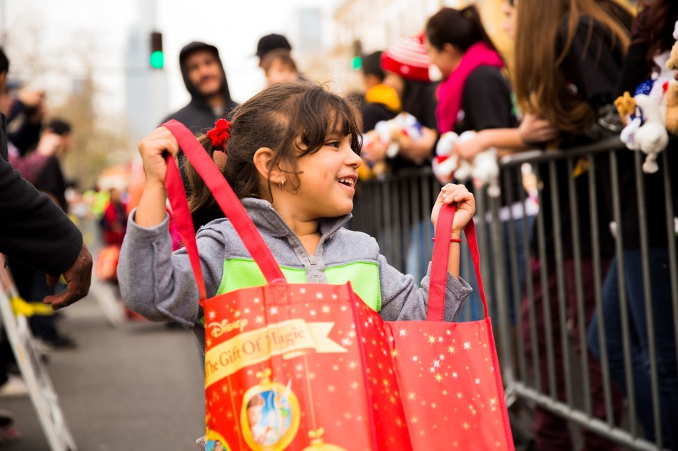 Christmas Comes Today, Saturday, For Thousands Of Impoverished Children On Skid Row At Fred Jordan Missions