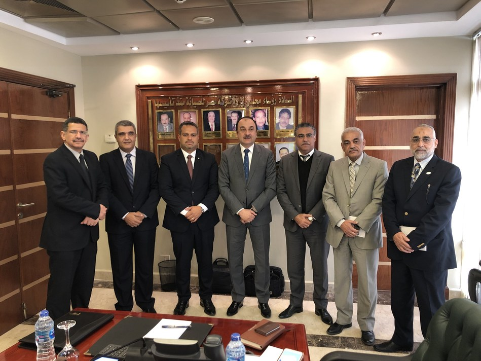 Bilfinger and Egyptian Maintenance Company (EMC) sign a Memorandum of Understanding (PRNewsfoto/Bilfinger)