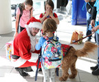 If Santa needed commercial service, he'd choose Ontario International Airport