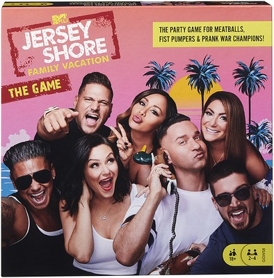 """Jersey Shore Family Vacation"" board game"