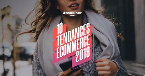 Absolunet dévoile les 10 tendances eCommerce qui bouleverseront les détaillants en 2019 (Groupe CNW/Absolunet inc.)