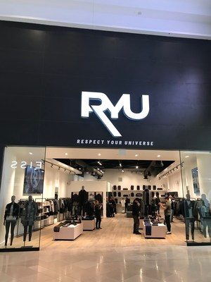 RYU opens new store in Sherway Gardens, in Toronto (CNW Group/RYU Apparel Inc.)