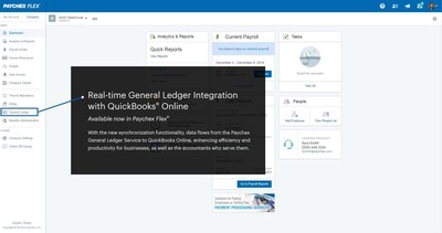 With the new synchronization functionality, data flows from the Paychex General Ledger Service to QuickBooks Online, enhancing efficiency and productivity for businesses, as well as the accountants who serve them.