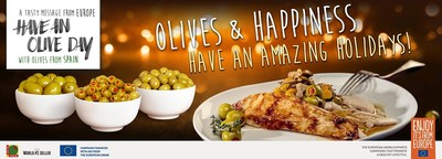 Olives from Spain reveals three easy and delicious recipes with olives to reinvent the Holiday menu
