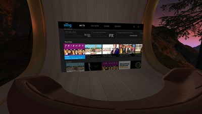 Sling TV today became the first virtual multichannel video programming distributor (vMVPD) to launch on Oculus Go, the all-in-one wireless virtual reality (VR) headset.