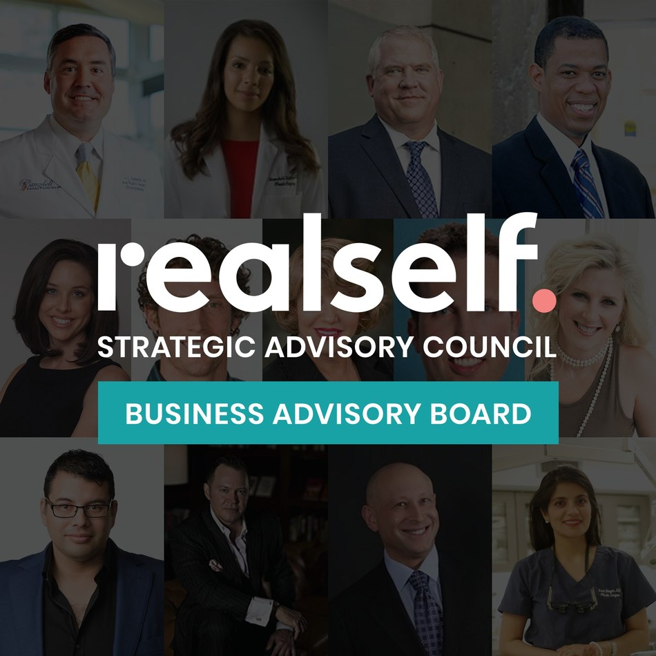 RealSelf Announces Formation of Strategic Medical Advisory Council with Three Operating Boards; Unveils Inaugural Members of Business Advisory Board