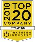 Global Knowledge est nommée parmi les 20 meilleures entreprises de formation en technologie de lʹinformation de 2018. Il sʹagit de la 11e année consécutive où Global Knowledge fait partie de la liste. Cette liste est fondée sur une vaste gamme de critères, y compris : envergure et qualité du contenu et des cours de formation; leadership et innovation; taille de lʹentreprise; force la clientèle; possibilités de croissance. Global Knowledge a lancé ses cours dʹapprentissage mixte à lʹautomne de 2018. (PRNewsfoto/Global Knowledge)