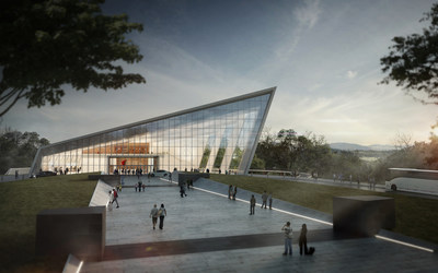 Rendering of the National Museum of Intelligence and Special Operations