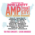 Winners Announced for the 2019 Levitt AMP [Your City] Grant Awards