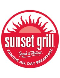 Sunset Grill is a proudly Canadian all-day breakfast restaurant franchise founded in Toronto, Ont. by Angelo Christou in 1985. The owner-operated, California-style breakfast restaurants feature fresh grilled breakfast and lunch prepared in an open kitchen, served daily from 7 a.m. to 4 p.m. Sunset Grill has since expanded to 82 locations across Canada and is continuously growing. For franchising opportunities or to learn more, visit sunsetgrill.ca. (CNW Group/Sunset Grill Restaurants Ltd.)
