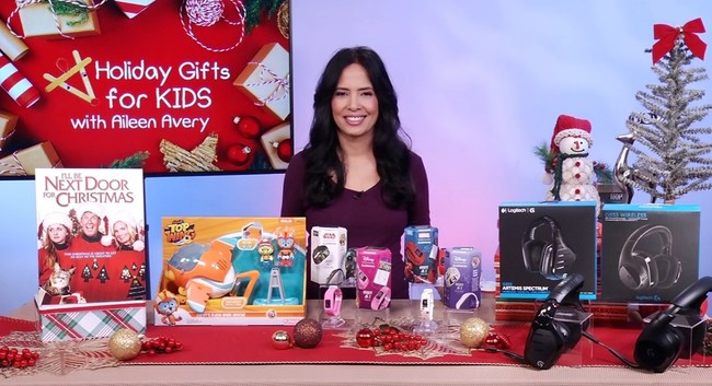 Aileen gave her top gift suggestions for kids.