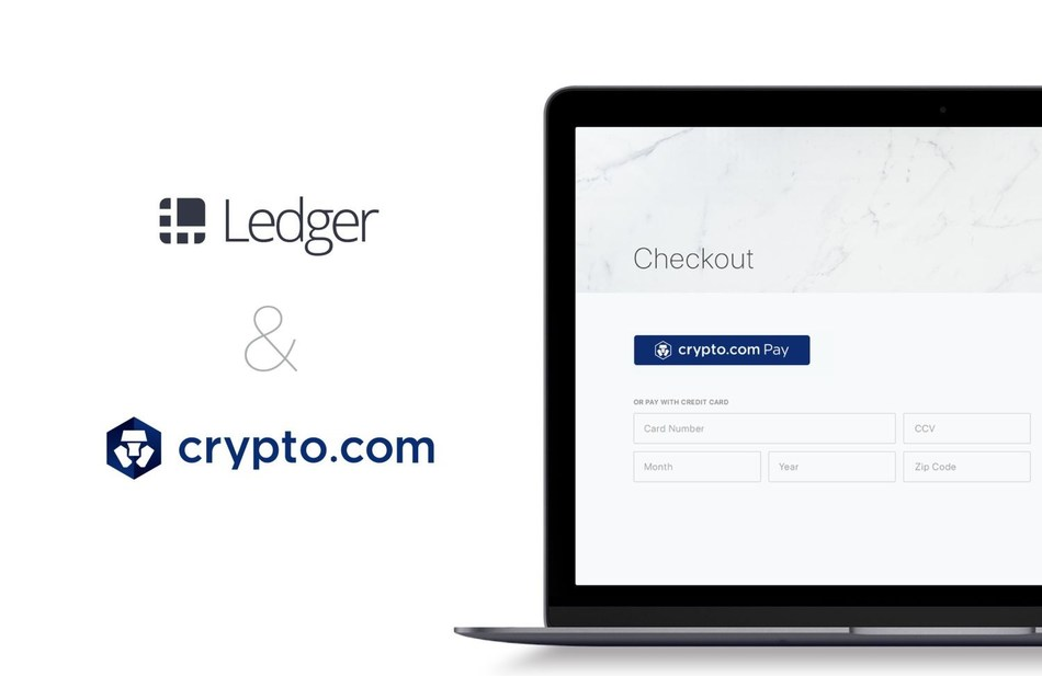 Ledger will implement Crypto.com Pay – powered by the Crypto.com Chain –  into its ledger.com online store (PRNewsfoto/Crypto.com)