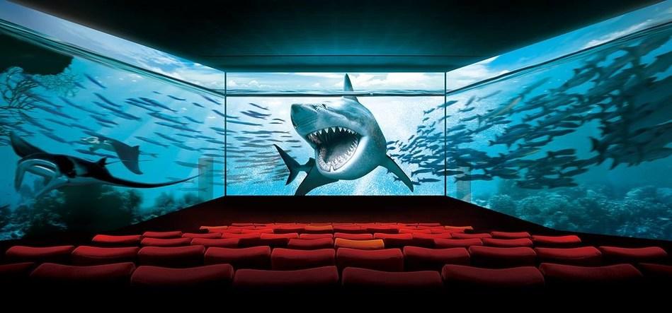 ScreenX Auditorium (CNW Group/Cineplex)