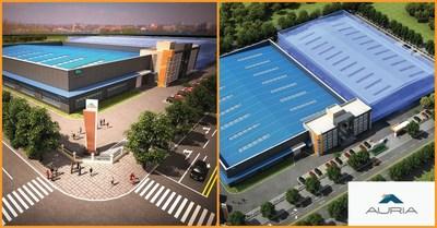 傲锐汽车部件(上海)有限公司在中国武汉的新工厂破土动工