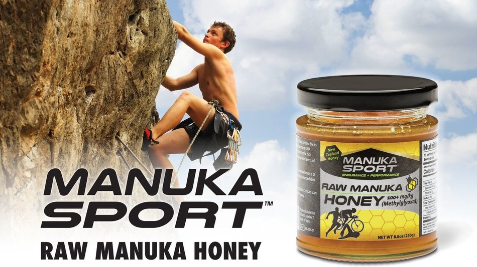 Manuka Sport's Raw Manuka Honey, a healthy addition to the diets of elite athletes and weekend warriors, is now available on Amazon.