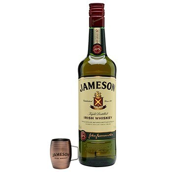 Send top-shelf liquors like Jameson's Irish Whiskey for Christmas and New Year with DrinkableGifts.com