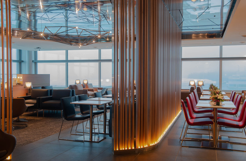 The new Maple Leaf Lounge in St John's. (CNW Group/Air Canada)