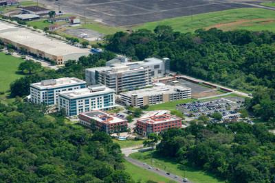 巴拿马太平洋特别经济区大道上的国际商业园