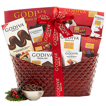 Send chocolate gifts for kids and kids-at-heart for Christmas and New Year