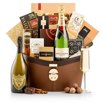 Make sure they have a cork to pop this New Year, order champagne and wine for international delivery