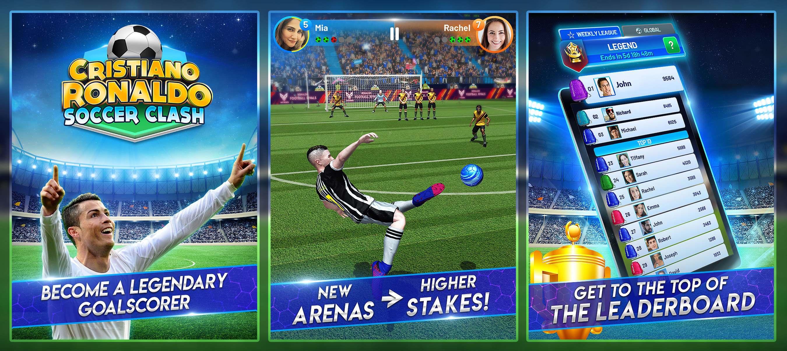 Play With Cristiano Sports Star Launches Official Soccer Game Cristiano Ronaldo Soccer Clash