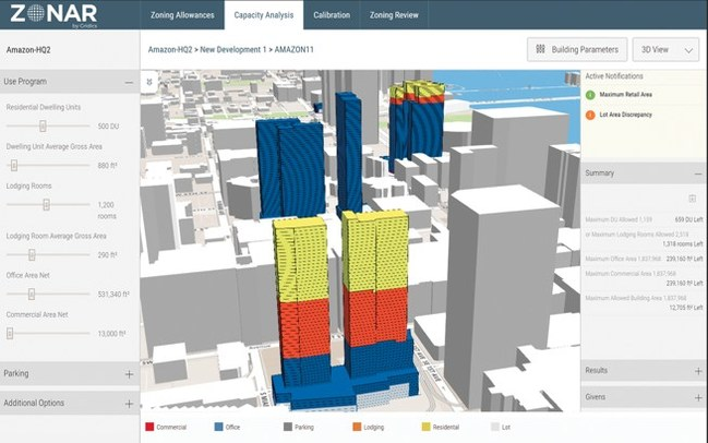 Development Feasibility - staff tools to write, test and visualize zoning changes as well as check permits for zoning compliance more quickly.