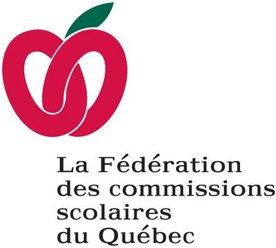 Logo : Fédération des commissions scolaires du Québec (Groupe CNW/Fédération des Chambres de commerce du Québec)