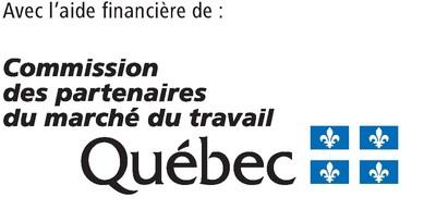 Logo : Commission des partenaires du marché du travail (Groupe CNW/Fédération des Chambres de commerce du Québec)