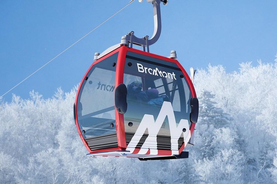 Gondola Bromont (CNW Group/Bromont Montagne d'expériences)