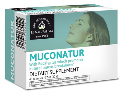 • Muconatur contains essential oils from the eucalyptus leaf, horehound herb, marshmallow root and sundew plant. This product helps alleviate respiratory system issues including chronic colds, flu, bronchitis, cough, pharyngitis and laryngitis as well as pulmonary problems.