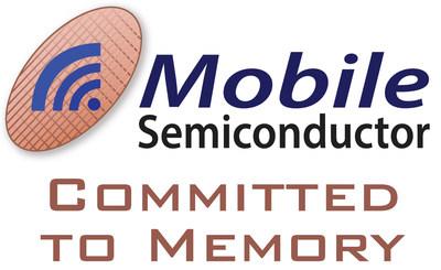 Mobile Semiconductor logo (PRNewsfoto/Mobile Semiconductor)