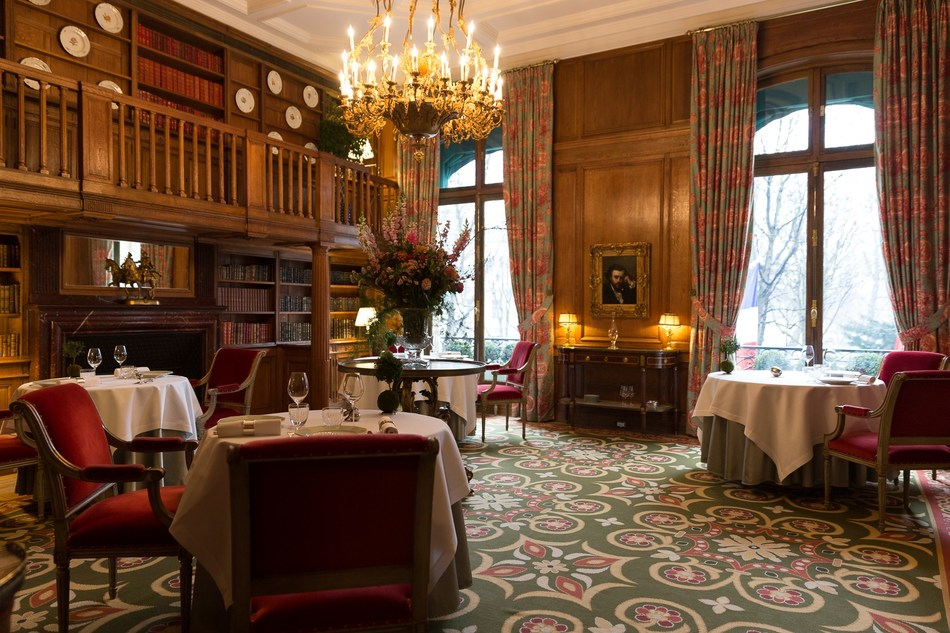 Le Clarence - Salle à manger Pontac (PRNewsfoto/Le Clarence)