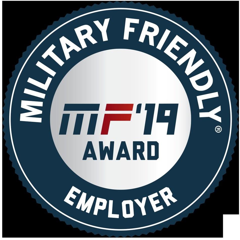 2019 Military Friendly Employer Logo