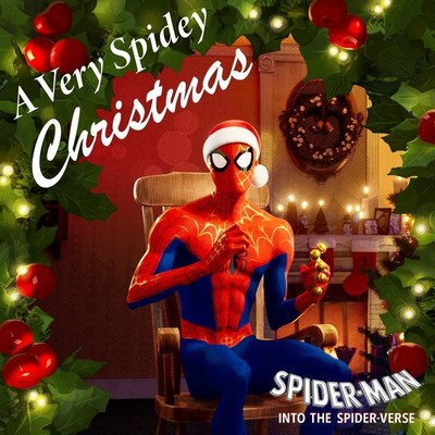 Spider-man™: Into The Spider-verse Presents A Very Spidey Christmas Available Now From Sony Music Masterworks