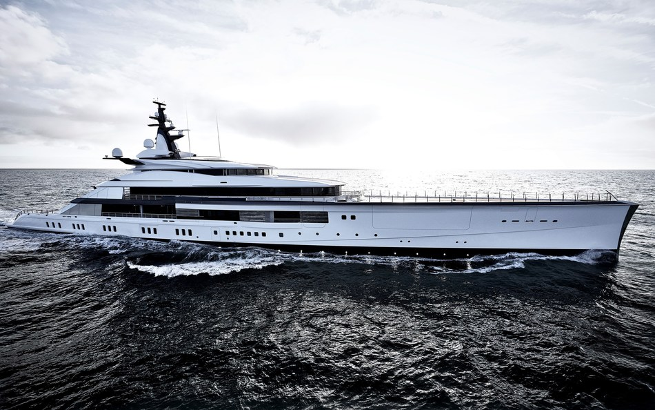 Oceanco delivers Project Bravo (Credits: Francisco Martinez) (PRNewsfoto/Oceanco)