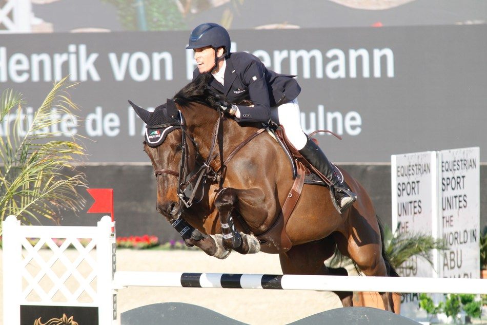 Current world No. 6, Henrik Von Eckermann will return to the Al Shira'aa International Horse Show from January 9-12, 2019 to defend his title. (PRNewsfoto/Al Shira'aa Stables)