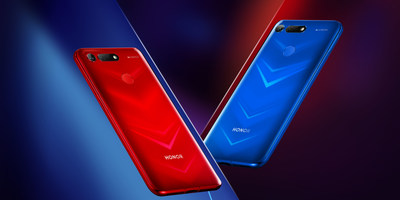 HONOR View20 Phantom Red & Phantom Blue