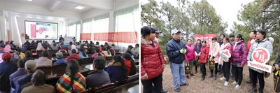 Local farmers in Yunnan's Yongsheng County take truffle farming courses and receive in-person training