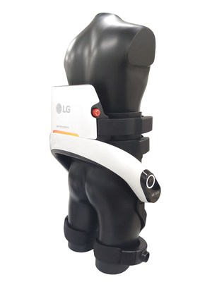 The new LG CLOi service robots have been updated with a more advanced autonomous navigation system as well as enhanced connectivity to allow for communication with mechanisms such as elevators and automatic doors. (CNW Group/LG Electronics, Inc.)