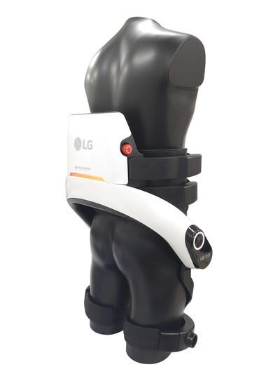 Les nouveaux robots de service LG CLOi sont désormais dotés d'un système de navigation autonome plus avancé ainsi que d'une meilleure connectivité afin de leur permettre de communiquer avec des mécanismes comme les ascenseurs et les portes automatiques. (Groupe CNW/LG Electronics, Inc.)